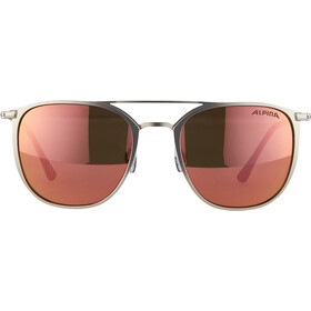 Alpina Zuku Glasses silver matt/rose-gold mirror